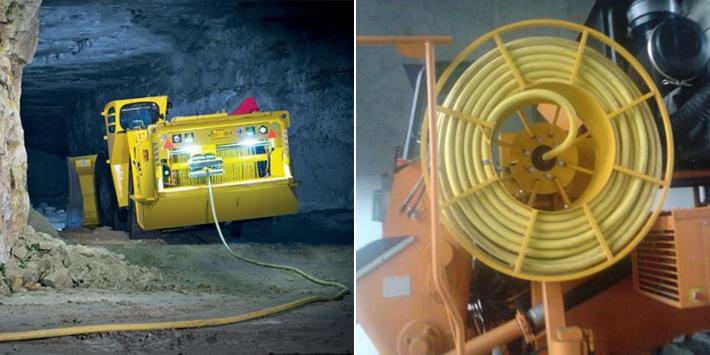 电动铲运机专用电缆应用
