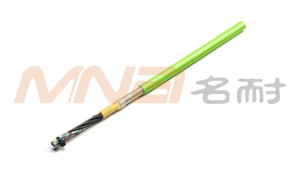 MNCF170  中度柔性双绞双护屏蔽拖链电缆