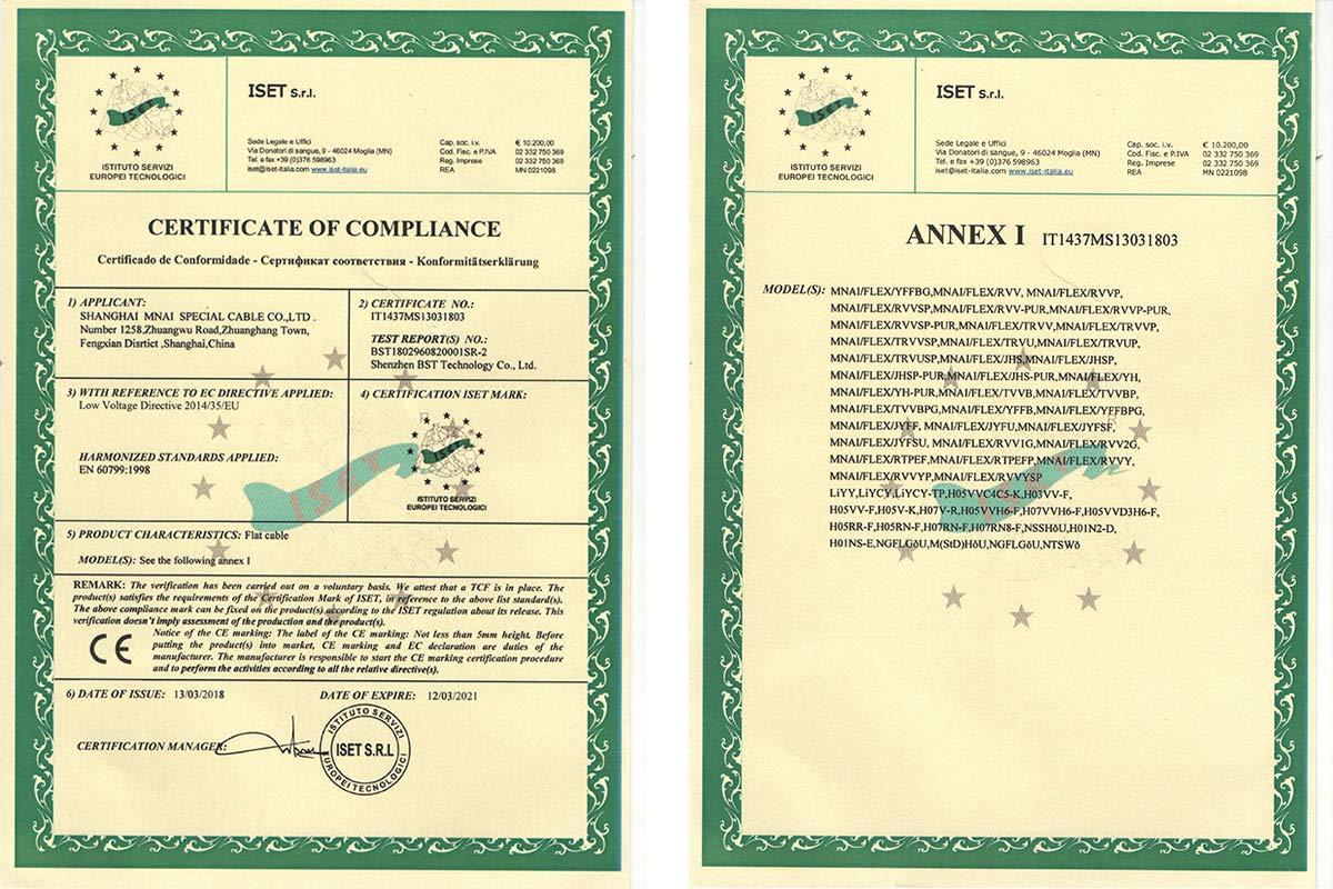 CE认证书